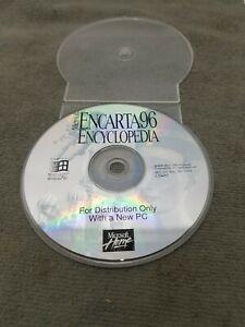 Microsoft Home Encarta 96 Encyclopedia for Windows 95 PC. DISC ONLY 170452