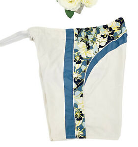 Breakwater Men's Swimsuit Sz Medium Hawaiian Swim Trunks Lined With Pockets