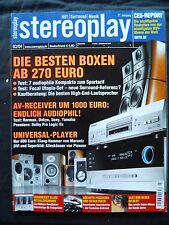 STEREOPLAY 3/04 JM LAB 926,KEF XQ FIVE,B&W 703,KARDON AVR 430,SONY STR DA 3000ES