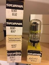 Realistic 6EM7 Electronic (Vacuum) Tube (NOS) Original Box (ONE LEFT)