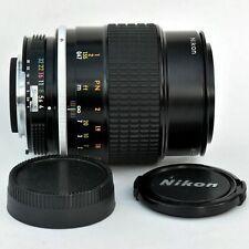 Nikon Micro Nikkor 105mm f/4 AI Sp'r Sh'p Macro Lens. Exc++++. Tstd. see Images