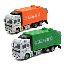Garbage Truck Trash Bin 1:48 Scale Car Model Diecast Gift Toy Vehicle Collection