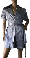 LDL AUSTRALIA SIZE 18 SILVER GREY DRESS NWOT