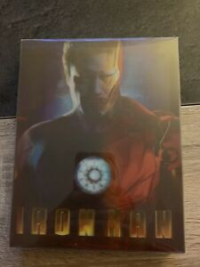 Blu Ray Steelbook Blus Fans N'20 Iron Man Edition Limitee Collector. Tres Rare.