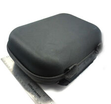 """Large Portable 9"""" X 7"""" X 4"""" Pipe Travel Carrying Pouch Hard Case Zippered Black"""