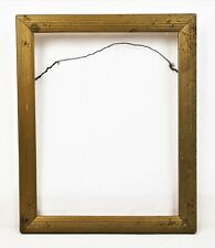 """Antique 19th C Victorian Picture Frame Gold Gilt Gesso Baroque Fits 9.5"""" x 7.5"""""""