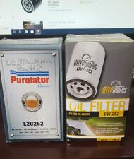 Engine Oil Filter Purolator L20252 and DW-252