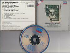 BEETHOVEN SYMPHONY NO.5 VLADIMIR ASHKENAZY 1982 CD DECCA W GERMANY FULL SILVER