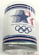 Rare 1984 OLYMPIC GAMES Glass Los Angeles with Sam the Eagle