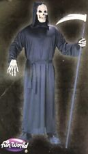 Halloween Horror Black Riper Robe Costume. One Size Up To 6 Feet And 200 Pounds