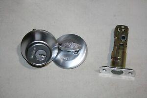 NEW Kwikset 96600-576 Single Cylinder Deadbolt Satin Chrome W/ Smart key