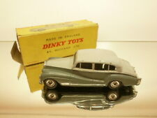 DINKY TOYS 150 ROLLS ROYCE SILVER WRAITH - GREY 1:43 - GOOD CONDITION IN BOX