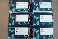 C9370A,71A,72A,73A,74A,C9403A  Designjet T610 New set of 6 72ink Ctg 2017/2018