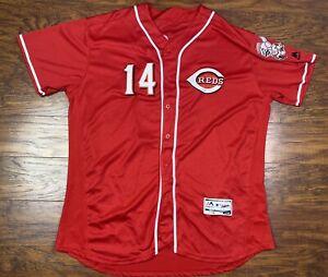 cincinnati reds pete rose flex base jersey majestic size 52 red E3