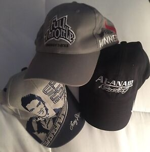 Larry Dixon Top Fuel  NHRA Racing Hats (3 New) One Monogrammed  Signed.    #2