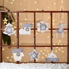 Christmas Decor Wooden Pendants Xmas Home Party Decor Creative