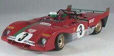 Ferrari  312 P Targa Florio Winner #3 1/18 Diecast Car Model by GMP G1804111