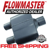 "Flowmaster 8430152 Super 10 Muffler 3"" Center Inlet/2.5"" Dual Outlet"