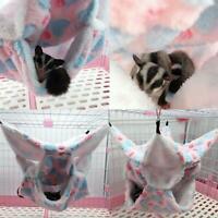 Pet Bird Hamster Ferret Rat Squirrel Hammock Hanging Cage Nest Bed House Toy U K