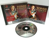 Tomb Raider 2 ~ Sony Playstation PS1 Platinum Game ~ PAL* Very Good Complete*