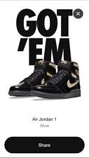 Air Jordan Retro 1 High OG Black Gold 555088-032 Men's Size 10 *CONFIRMED ORDER*