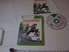 Shaun White Skateboarding (Microsoft Xbox 360, 2010) TEEN game NTSC SCRATCHES