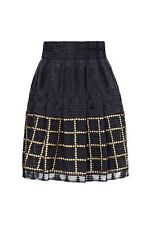 """Brand New SASS & BIDE  """"The Power Of One""""  Embroidered & Embellished Skirt  - 12"""