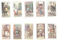 1916 Cries Of London 2nd series Complete Players Tobacco Card Set 25 cards lot 2