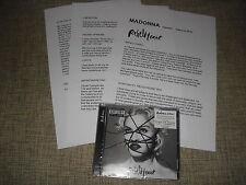 MADONNA - REBEL HEART - DELUXE VERSION PRESS DJ PROMO SET  LIVING FOR LOVE  MINT