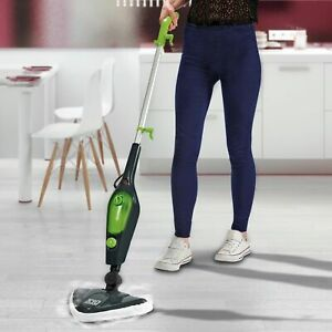 Easy Steam Steam Mop Cleaner Handheld Carpet Floor Washer 1500W Multi 10in1