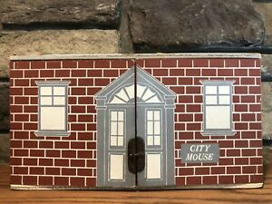 Scarce Vintage FAOSchwarzCity Mouse House & Accessories
