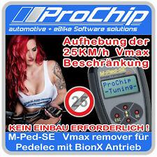 M-Ped-SE Vmax Tuning  für  Pedelec / E-Bike mit Bionx Antrieb von ProChip
