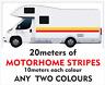 20meters of  MOTORHOME VINYL STRIPES STICKERS DECALS CAMPER VAN CARAVAN