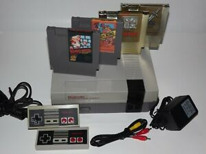 Nintendo NES System Console Choose Your Super Mario Zelda Game Bundle New 72 Pin