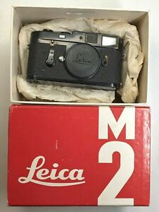1961 Leica M2 Black Enamel (factory)