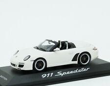 Porsche 911 Speedster 997.2 2010 weiß white blanco Minichamps 1:43 WAP0200290B