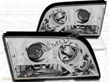 1994-2000 Mercedes Benz 4-Pin W202 C-Class Sedan Chrome Projector Headlights