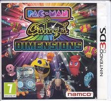 Nintendo 2DS~3DS **PAC-MAN & GALAGA DIMENSIONS** come nuovo italiano