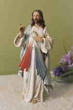 Jesus Statue 9.5 inch Divine Mercy Indoor Outdoor Resin Amazing Detail