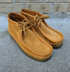 Clarks x Charles F Stead limited 202/356 wallabee shoes Italy Men's 10M EUC RARE