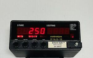 CENTRODYNE SILENT 620 TAXIMETER. Taxi Cab Meter. Taxi Meter. Cab Meter.