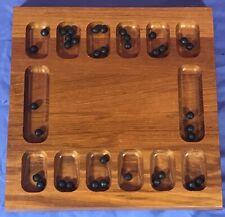 DESIGN HENNING BANG Kalaha Mancala Teak Wood Danish Game Board Denmark