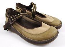 Chaco Loyalist Vibram Gunnison Mary Jane Brown Leather Shoes WOMENS Sz 7.5