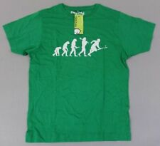 Hairy Baby Men's S/S Hurling Evolution Graphic T-Shirt TW4 Green Large NWT
