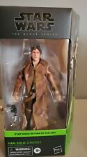 Star Wars The Black Series Han Solo (Endor Trenchcoat) 6-Inch Action Figure NEW