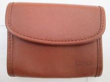 -AUTHENTIQUE porte-monnaie/porte-clé COACH  cuir  TBEG vintage