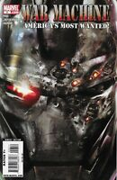 WAR MACHINE #6 MARVEL COMICS 2009 BAGGED AND BOARDED