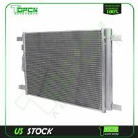 Aluminum AC Condenser Fits 4513 For 15-17 Volkswagen Golf 18 Volkswagen Tiguan