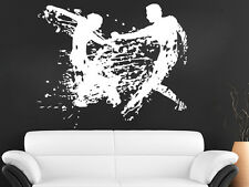Wall Decals Dancing Dancer Girl Man Decal Vinyl Sticker Home Decor MS595