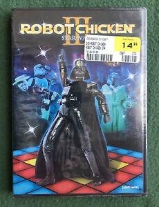 Robot Chicken Star Wars Episode 3 DVD new sealed Cartoon Network 2011 Adult Swim